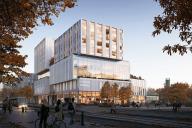 Lehto Tilat rakentaa Vantaan kaupungin uuden toimitalon